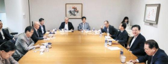 26日に開かれた第18回「韓日ビジョンフォーラム」で各界の専門家が討論している。キム・ソンニョン記者