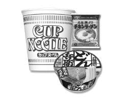 世界初のインスタントラーメンである日清食品の「チキンラーメン」と「カップヌードル」