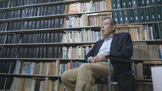 内田雅敏弁護士が先月29日、都内の事務室で中央日報のインタビューに答えている。JTBCパク・サンヨン記者