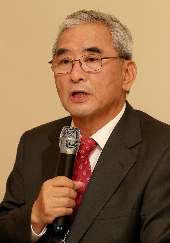 李栄薫(イ・ヨンフン)元ソウル大経済学部教授。チェ・チョンドン記者