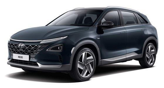 現代車の燃料電池車「NEXO(ネキソ)」 [写真 現代自動車]