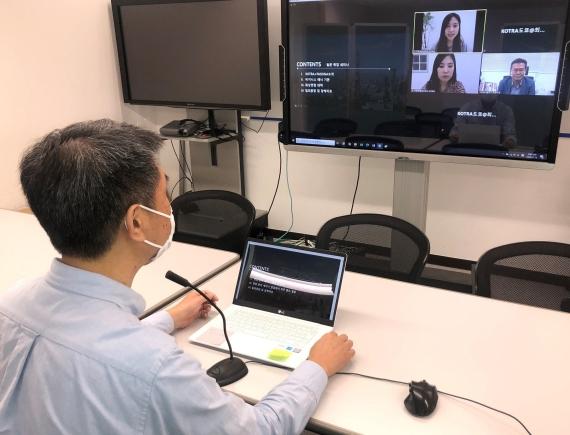 KOTRAが20日から3日間日本で「Online Job Fair Week 2020」を開催中だ。日本現地でテレビ電話面接を進めている。