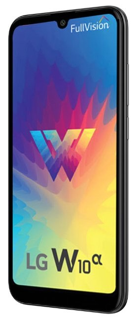 今月末、LGエレクトロニクスがインドで発売する予定のの「W10 Alpha」[写真 LGエレクトロニクス]