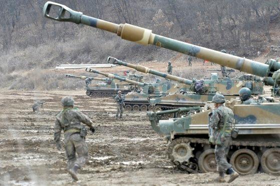 京畿道が統一部に韓米連合演習の中止を要請した。[中央フォト]