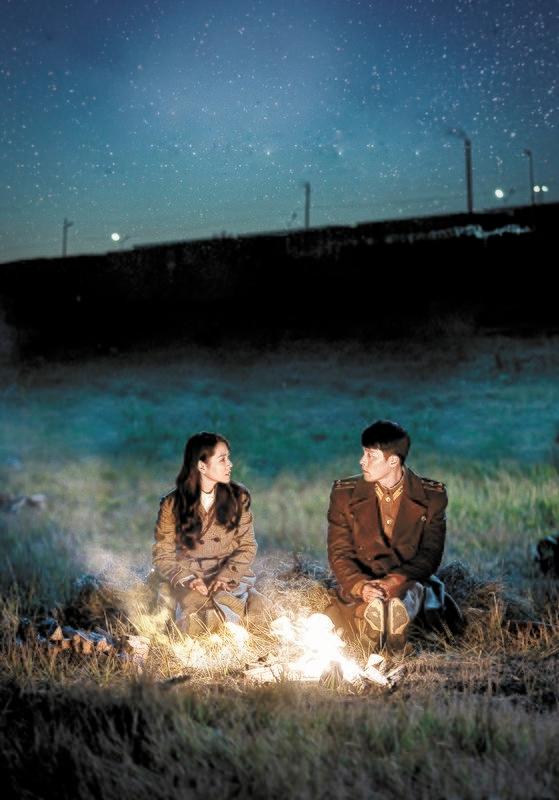 日本でネットフリックスを介して人気を得ている韓国ドラマ『愛の不時着』[写真 tvN]