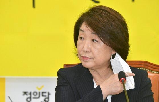 正義党の沈相ジョン(シム・サンジョン)代表