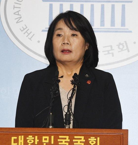 尹美香(ユン・ミヒャン)議員 [中央フォト]