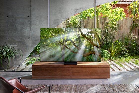 サムスン電子の2020年型QLED 8Kテレビ[写真 サムスン電子]