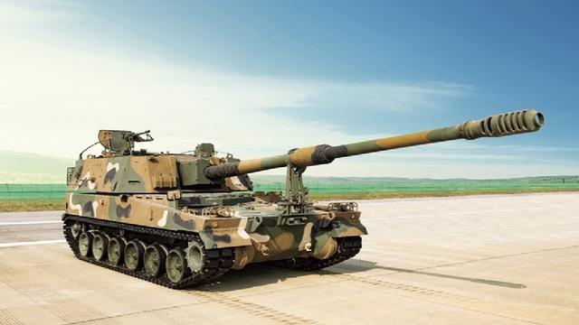 K9自走砲。(写真 ハンファディフェンス)