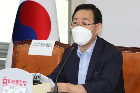 野党・国民の力(旧未来統合党)の朱豪英(チュ・ホヨン)院内代表