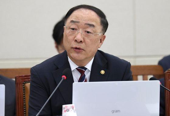 洪楠基(ホン・ナムギ)経済副総理兼企画財政部長官