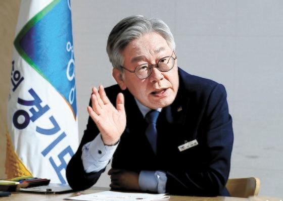 李在明京畿道知事