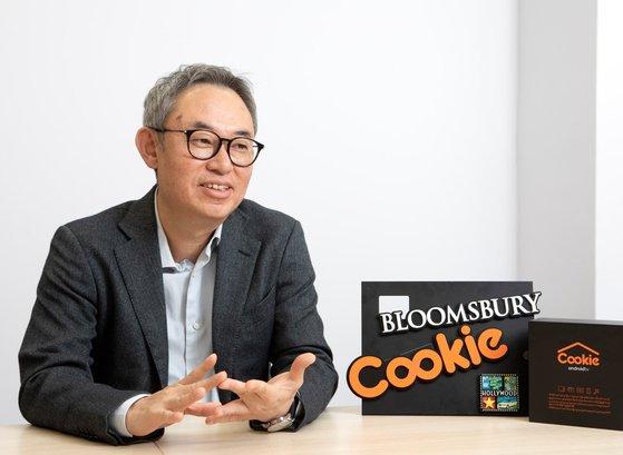 東南アジア市場でOTTの「Cookie」を運営するブルームズベリーのキム・ヨソプ代表。