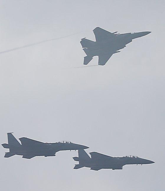 韓国空軍F-15Kの写真資料 [写真 共同取材団]