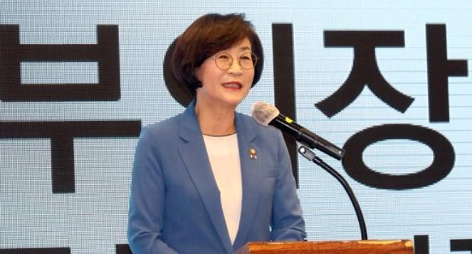 韓国国会の金相姫副議長