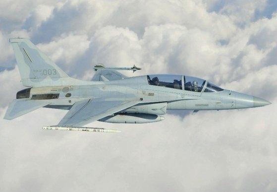 軽攻撃機FA-50 [空軍提供]