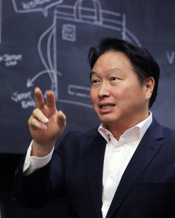 SKグループの崔泰源(チェ・テウォン)会長