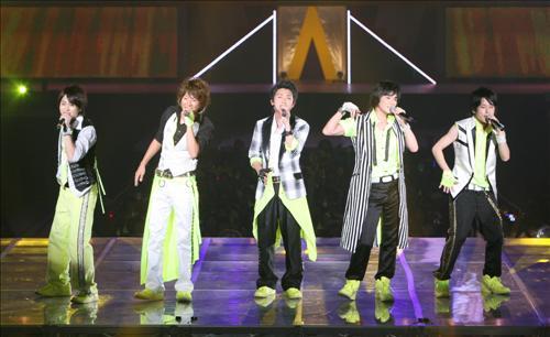 日本最高の人気グループ嵐がアジアツアーの韓国編を成功裏に終えた。
