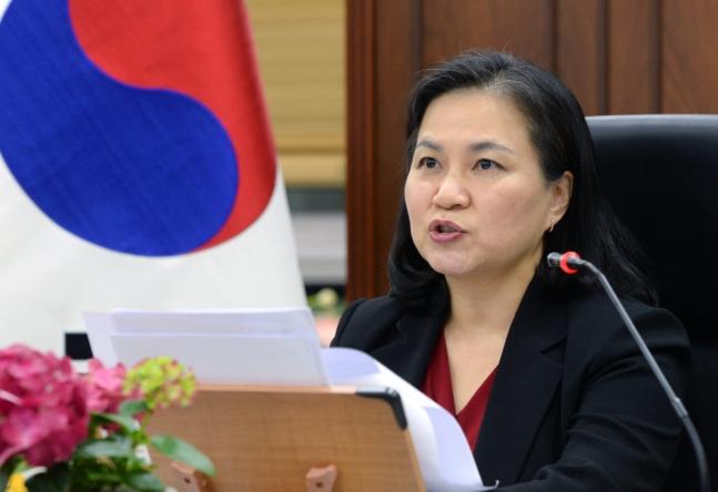 韓国の兪明希(ユ・ミョンヒ)交渉本部長本部長