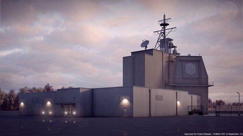 米軍がルーマニアに配備した陸上配備型弾道ミサイル迎撃システムのイージス・アショア。[写真 CSIS]