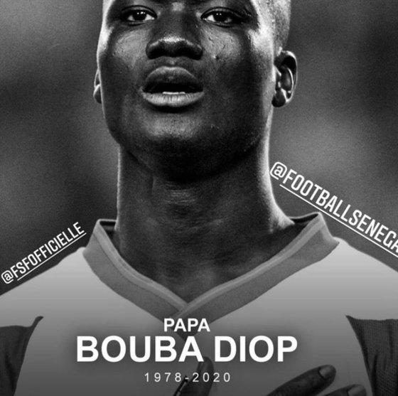 韓日ワールドカップ第1号ゴールを記録したパパ・ブバ・ディオプ氏が持病により死去した。[写真 セネガルサッカー協会インスタグラム]