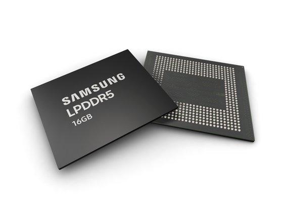 サムスン電子が開発した第3世代10ナノ級のモバイルDRAM[写真 サムスン電子]