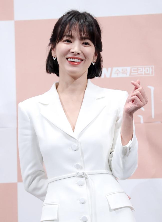 女優ソン・ヘギョ[写真 韓国ニッカンスポーツ]