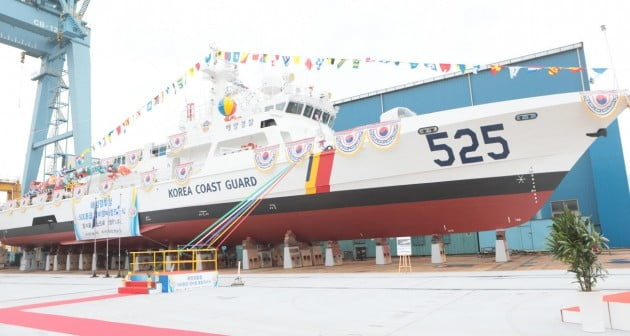 韓国海洋警察庁の警備艦艇。[写真 海洋警察庁]