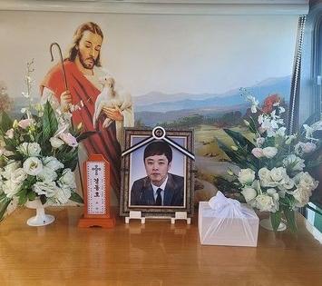 脳出血後9カ月の闘病の末、今月7日に亡くなったタレントのキョン・ドンホさん。[写真 歌手MOSEのインスタグラムキャプチャー]