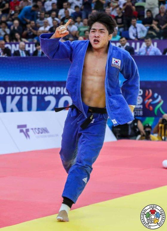 男子73キロ級の安昌林が新年最初の国際大会で優勝した。この階級の最強選手であり安昌林の「天敵」の大野将平は出場しなかった。 [写真 IJF]