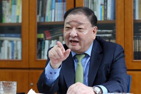 姜昌一新任駐日大使