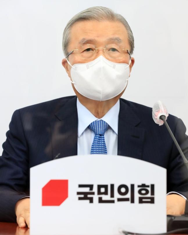 野党「国民の力」の金鍾仁(キム・ジョンイン)非常対策委員長