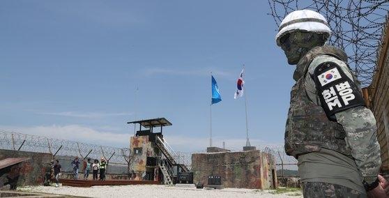 「DMZ平和の道」のファサルモリ高地の非常駐GP。該当記事は写真と直接的な関連はありません。[写真 共同取材団]