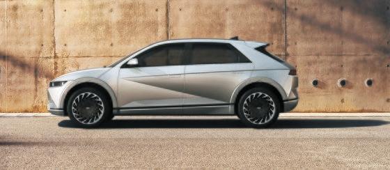 現代車が23日に公開した専用電気自動車ブランド「アイオニック」の最初のモデル「アイオニック5」。 [写真 現代車]