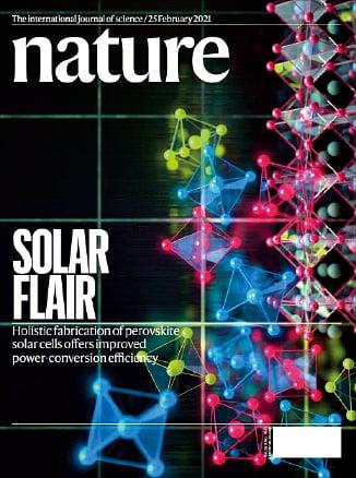 韓国化学研究院研究チームが開発したペロブスカイト太陽電池。[写真 韓国化学研究院]