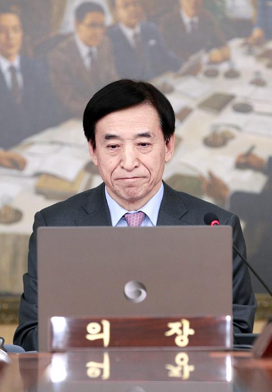 韓国銀行李柱烈(イ・ジュヨル)韓銀総裁
