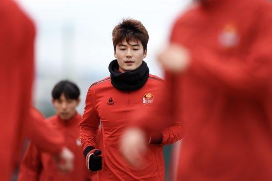 FCソウルの奇誠庸(キ・ソンヨン) [写真=プロサッカー連盟]