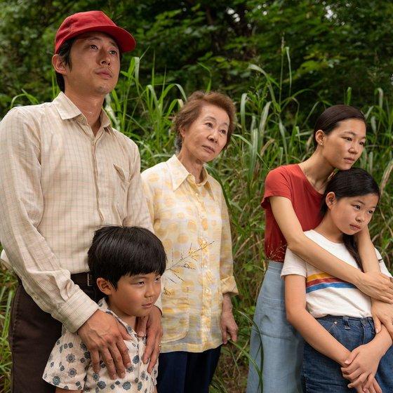 映画『ミナリ』の中の主人公家族。[写真 パンシネマ]