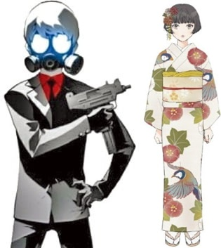 ネイバー(NAVER)のウェブトゥーン『テロマン』(左)、ダウム(Daum)ウェブトゥーン『京城夜想曲』