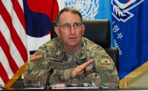 ロバート・ エイブラムス韓米連合司令官兼在韓米軍司令官 [韓米連合軍司令部提供]