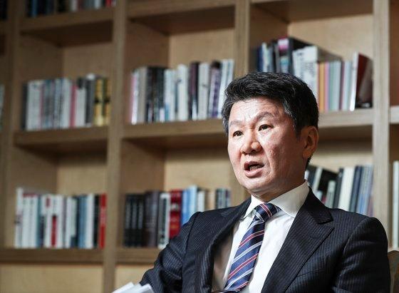 鄭夢奎(チョン・モンギュ)大韓サッカー協会会長 キム・ギョンロク記者