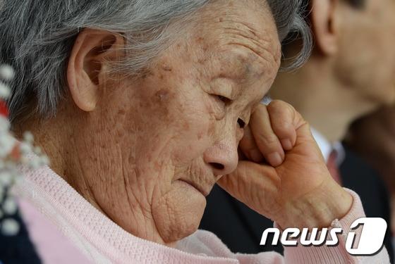慰安婦被害者の故チョン・ボクスさん。[写真 ニュース1]