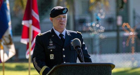 在韓米軍司令官に指名されているポール・ラカメラ氏。彼は現在、米太平洋陸軍司令官を務めている。[写真 米太平洋陸軍司令部]