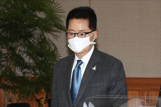 朴智元国家情報院長