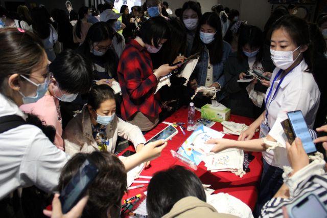 韓国観光公社が15日、新型コロナウイルス流行から1年6カ月ぶりに中国・北京の韓国文化院で「韓国に行って遊ぼう」という主題で観光説明会を開いた。[写真 韓国観光公社北京支社]
