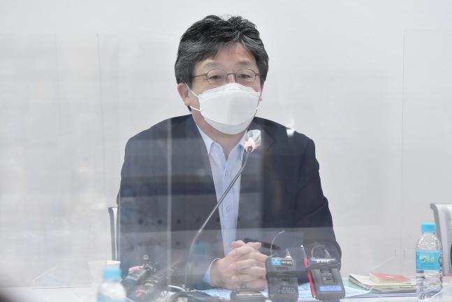 国民の力の劉承ミン(ユ・スンミン)元議員 オ・ジョンテク記者