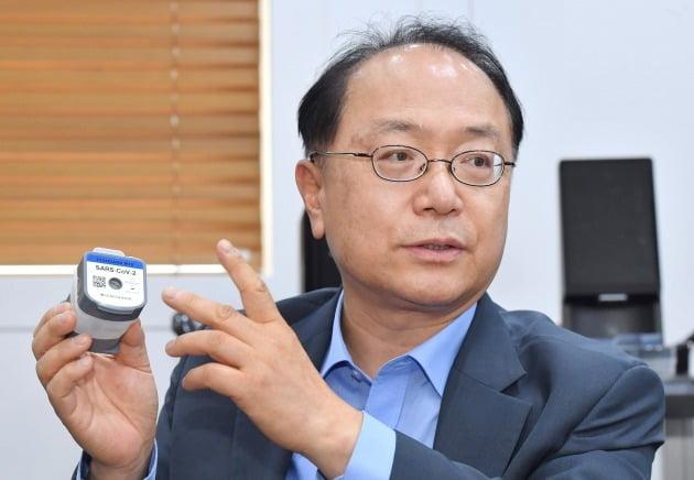 SDバイオセンサーのチョ・ヨンシク会長 写真=キム・ヨンウ記者