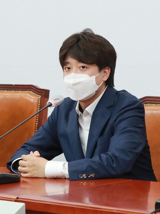 国民の力の李俊錫(イ・ジュンソク)代表