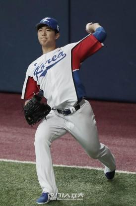 韓国野球の次世代日本キラーとして期待される左腕投手・李義理(イ・ウィリ)。 キム・ミンギュ記者