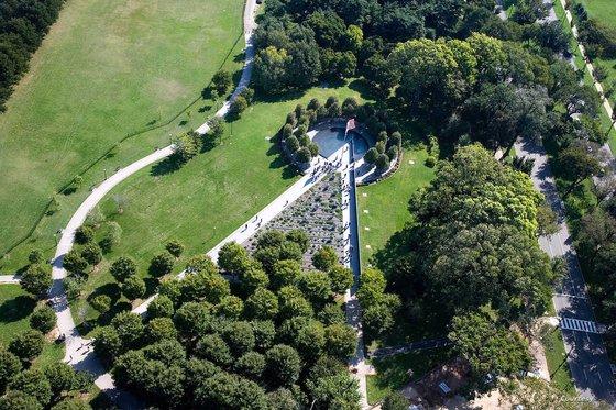 「追悼の壁」が建てられるワシントンナショナルモール内の韓国戦争参戦勇士記念館。 [写真 韓国戦争参戦勇士記念館]